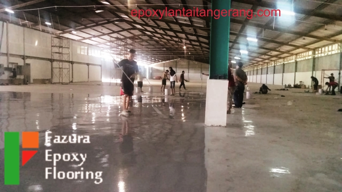 Epoxy Resin Self Leveling Flat Floor